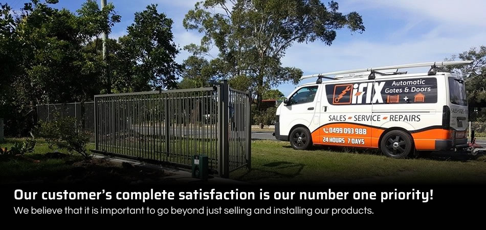 Our customer�s complete satisfaction is our number one priority!